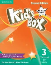 Kid's Box American English Level 3 Workbook with Online Resources by Michael...