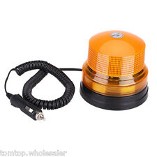 High power Car Magnetic Warning flash beacon Strobe Emergency light Amber DC12V