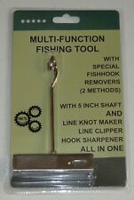 Multi-function Heavy Duty Fishing Equipment Tool DEHOOKER, Knot Maker, Clipper