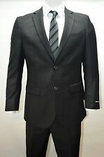 Men's Black Modern Fit Dress Suit Size 48R NEW Suit