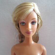 NEW Barbie Fashion Fever Mackie Doll Streaked Blonde Hair Blue Eyes ~ Nude FLAWS