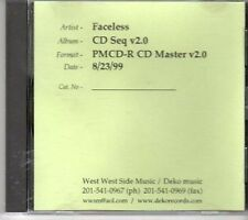(CY609) Faceless, CD Seq v2.0 - Test Pressing 1999 CD