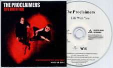THE PROCLAIMERS Life With You 2007 UK numbered 13-track promo CD wallet sleeve