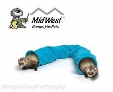 """Midwest Nation Ferret Tunnel Hide and Seek Critter Tunnel Teal 40"""""""