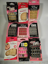 KISS / FINGRS -  9 - PACKS OF ASSORTED FASHION NAILS FOR FINGERS AND TOES