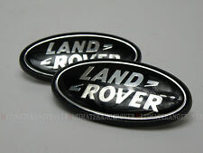RARE FREELANDER 2 SUPERCHARGED BLACK REAR BACK QUARTER SIDE B C POST BADGE SET