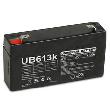 UPG 6V 1.3Ah BATTERY REPLACEMENT LC-R061R3PU PS-612