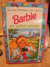 Livre enfant - Barbie au Safari Photos