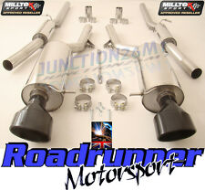 Milltek Audi RS6 C5 Exhaust System Cat Back Resonated Black Ovals SSXAU212 & EC