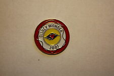 DISNEY WONDER 2001 DCL LE CRUISE LINE ACHIEVEMENT PIN