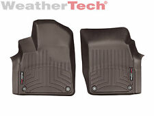 WeatherTech Floor Mats FloorLiner for Audi Q7 - 2017 - 1st Row - Cocoa