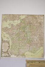 Carte XVIII° la FRANCE et ses Provinces DESNOS Géographe Paris 1774