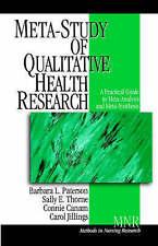 PATERSON: META-STUDY (P): META-ANALYSIS AND META-SYNTHESISOF QUALITATIVE HEALTH