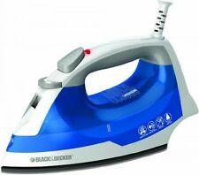 Black & Decker IR03V Easy Steam Iron, White/Blue, New, Free Shipping