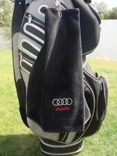 AUDI - HEAVY WEIGHT DELUXE VELOUR GOLF TOWEL SAVE ££'s