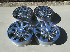 "18"" CHEVY 2500HD  OEM  FACTORY WHEELS RIMS CHROME CAPS 2016 HIGH COUNTRY"