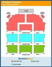 Hello Dolly New York Tickets 06/17/17 (New York) Orchestra Center H