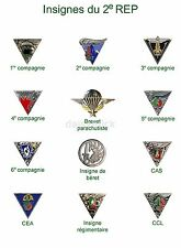 French Foreign Legion Insignia 2 Parachute Regiment 7x5 Inch Reprint Photo