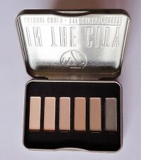 W7 In The City 6 Colour Eye Shadow Palette Tin Natural Nude Eye Colour Shades
