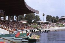 KODACHROME 35mm Slide Florida Cypress Gardens Water Ski Show Boat People 1973!!!