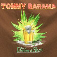Tommy Bahama Mens Large Tequila Golf Perfect Shot Brown Agave Golfing T Shirt