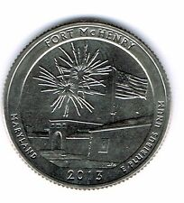 2013-S Brilliant Uncirculated Fort McHenry National Monument Quarter Coin!