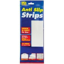 10 Pack Anti Slip Strips Indoor Quickly Use Skidding Sticker 21.6 cm x 1.9 cm