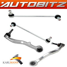FITS BMW E60 E61 5 SERIES FRONT LOWER TRACK CONTROL ARMS & STABILISER LINK BARS