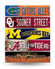 NCAA College Street Sign - 3.75