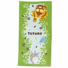 "Marushin My Neighbor Totoro Beach bath towel ""Forest Playground"" from Japan"