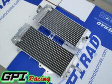 R&L Kawasaki KX250F KXF250  2011 2012 2013 2014 2015 2016 aluminum  radiator