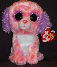 """TY BEANIE BOOS - LONDON the 6"""" DOG - CLAIRE'S EXCLUSIVE - MINT with MINT TAG"""