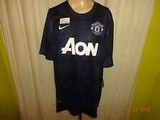 """Manchester United Original Nike Ausweich Trikot 2013/14 """"AON"""" Gr.XXL Neu"""