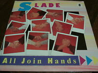 """SLADE ALL JOIN HANDS HERE'S TO.... RCA 1984 VINYL 7"""" SINGLE"""