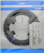 Shimano 105 FC-5800 Chainring 50T for 50-34T, Black, 11 Spd, FC-6800 Usable