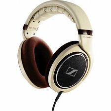 Sennheiser HD 598 Over-Ear Headphones - Cream - Brown