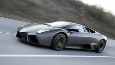 1 Lamborghini V 12 Sport Car Race Super Exotic Supercar 24 Carousel Grey 18 LP