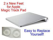 2 x Rubber / Silicone Feet for Apple Trackpad - Replace Broken or Missing Foot