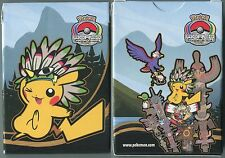 POKEMON BOITE DE RANGEMENT DE CARTE POKEMON INDIAN PIKACHU INDIEN 2013