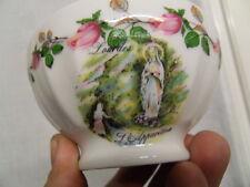 ancien petit bol vintage bowl faience limoges art deco 60's collection Lourdes