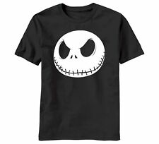 The Nightmare Before Christmas Fat Head Jack Face Glow-In-The-Dark T-Shirt, NEW