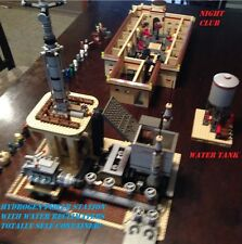 "Custom Lego Star Wars ""THE HUTTS LOUNGE"" Night Club with Generator etc..."
