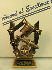 """Car Mechanic Auto Bronze Award Trophy 7"""" Shipped 2 Day Mail FREE Engraving"""