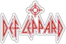 """Def Leppard Heavy Metal Music Car Bumper Window Sticker Decal 6""""X4"""""""