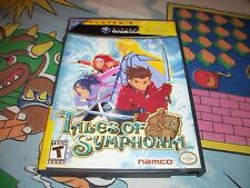 Tales of Symphonia Nintendo Gamecube Game w/ Case Tale