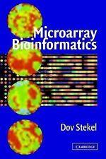 Microarray Bioinformatics by Dov Stekel (2003, Paperback)