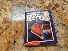 1992 roger Clemens sport shots collectors book #14