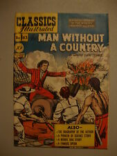 Classic Illustrated #63 G+ 1st PRT Man Without A Country