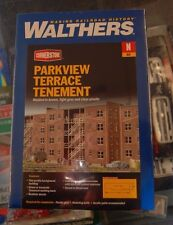 N Walthers Cornerstone kit 933-3259 * Parkview Terrace Tenement * NIB