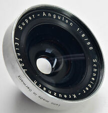 Schneider Super Angulon 90mm f8-ANTERIORI Barrel Copal 00 Fit